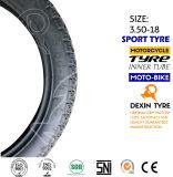 El sur de América del camino cansa el neumático 3.50-18 de la motocicleta del neumático de la motocicleta de la moto de las piezas de la motocicleta