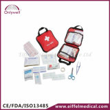 Jogo de primeiros socorros ao ar livre da emergência do salvamento médico do curso Efk105