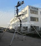 El SGS aprobó el andamio de aluminio del móvil de los 6m para la decoración