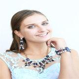 Nuevo artículo de la joyería hermosa de la manera de la resina del pendiente pulsera del collar
