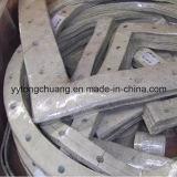 Não Metal Fiberglass Seal Ring Gasket Calor-resistente para Flue