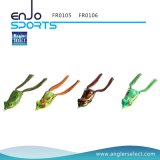Hollow Body Frog Fishing Lure Top Water Tackle Hooks Bass Soft Bait Fishing Appel à l'eau douce (FR0106)