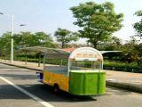 Carro del alimento para la venta en China, bicicleta móvil del carro del alimento del triciclo del carro del departamento del carro de la bici
