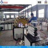 Machine tressée d'extrusion de pipe de boyau spiralé mou de PVC