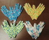 безопасность 13G, деятельность, земледелие и перчатки сада, трудные перчатки предохранения, перчатки женщины,