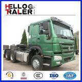 Camion del motore primo dell'emissione di Sinotruk HOWO 6X4 371HP Euro2/camion del trattore