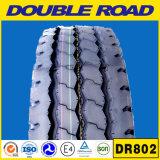 Todo el neumático sin tubo radial de acero de la talla 1100r20 (DR802) del neumático del carro