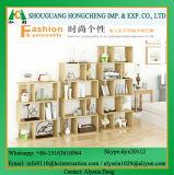 현대 나무로 되는 박달나무 베니어 책장