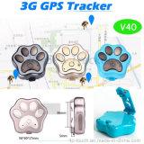 2016 новая конструкция водоустойчивое IP66 3G Pets отслежыватель GPS с воротом (V40)