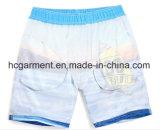 Tissu à 4 voies, couleur bleue Imprimé Design Beach Shorts for Man