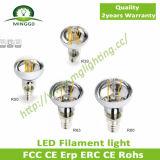 Diodo emissor de luz Filament Bulb Light do diodo emissor de luz 220V~240V Dimmable R39 2W de CE/RoHS Approval Filament