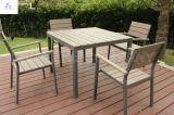 100%のプラスチック木製の屋外の家具公園の家具