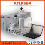 Preço branco da máquina da marcação do laser da fibra da tampa 20W do gabinete das vendas quentes para vendas