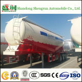De Tri-Axe du ciment 50cbm en camion-citerne de transport bas de page en bloc semi