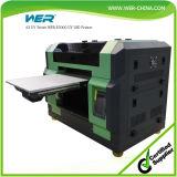 Preço UV mais barato da impressora da impressão de tinta do branco e da cor do tamanho do preço A3 simultaneamente