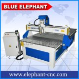 Máquina de grabado de madera de Ele 1325, maquinaria de madera del CNC para hacer el dinero
