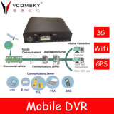 Registro local mais barato + GPS + CDMA2000 (3G) + WiFi Mobile DVR / Car DVR Recorder