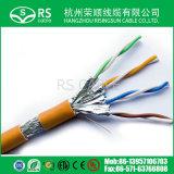 Cat5e UTP con el cable del IP del cable de la corriente continua Para CCTV 0.75m m 0.50m m