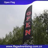 Fabrik der kundenspezifischen bekanntmachenden Strand-Markierungsfahne, Bildschirmanzeige-Markierungsfahne, Standplatz-Markierungsfahne, Feder-Markierungsfahne