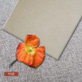 600*600無作法な陶磁器の柔らかい灰色の居間の床タイル