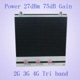 2g/3G/4G 900MHz/2100MHz/2600MHz三バンド移動式シグナルのブスターか中継器