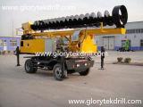Снаряжение сверла сверла L360-10m установленное трактором