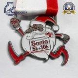 Medalla 2015 de la frecuencia intermedia con final del oro de la antigüedad del diseño de la relevación 3D