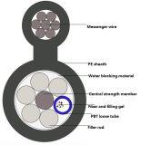 Cavo ottico della fibra Figure-8 (GYTC8Y)