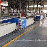 Belüftung-Plastikplatten-Strangpresßling-Maschine für das Bekanntmachen des Vorstands