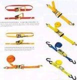 A catraca do poliéster amarra para baixo a chicotada da carga da cinta