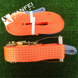 100% poliéster naranja carga correa de carga