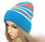 Neue Art, Sport-Förderung-Hut-Baseballmützewollen gestrickter Hut und Beanie