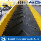 Courroie en caoutchouc en caoutchouc de la fabrication Ep/Nn/Cc de bande de conveyeur de configuration de Chevron dans Shandong