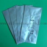 Saco de prata da embalagem do feijão de café da cor com válvula