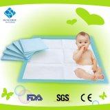 Heißes Verkaufs-saugfähiges Baby-ändernde Auflage, WegwerfUnderpad