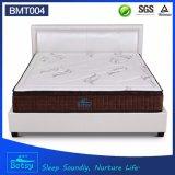 El OEM comprimió el colchón los 27cm de cinco zonas con el resorte Pocket de 5 zonas y la espuma Relaxing de la memoria