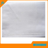 Bon sac blanc de polypropylène de vente en gros de couleur de sac tissé par pp de qualité des kilos