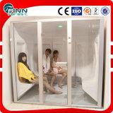 Sitio de vapor material de acrílico de la sauna del hogar o del hotel