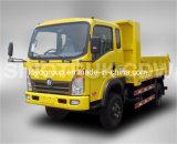 Carro de descargador del carro ligero 115HP/190HP 6-Wheel 4X2 6m3 de Sinotruk
