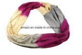 カスタマイズされたカラー縫うカラーウールは好む女性(ABF22005100)のためのスカーフを