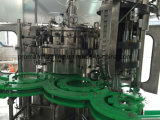 A água de frasco de vidro do animal de estimação bebe a planta da máquina de enchimento do capsulador do enchimento de Rinser