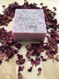 Leite de cabra Natural feito à mão Super hidratante Rose Soap Rose Oil Soap