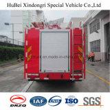 euro 4 del camion dei vigili del fuoco del serbatoio di acqua di 4ton Dongfeng