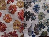 Tessuto 100% del sofà del reticolo del jacquard del poliestere fatto del materiale del Chenille (HD5134126)