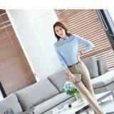 Neue Blusen für Frauen-formale Büro-Arbeits-Hemden plus Größe