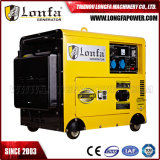 6,3 kVA 5 kW Powered by Diesel Engine Super Silent Generator