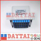 divisore ottico del PLC della fibra 1X8 con il piatto dell'inserto
