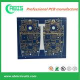 Placa de circuito impresso azul da máscara da solda Fr4