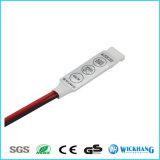 Schlüsseldimmer-Verstärker des controller-Mini3 für RGB 5050 3528 LED-Licht-Streifen 12V