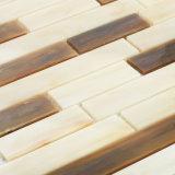 超低い吸水のモザイクは台所のための壁のガラスタイルを供給する